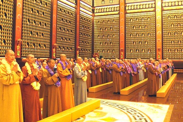 此行最後一站,參訪佛光山祖庭宜興大覺寺