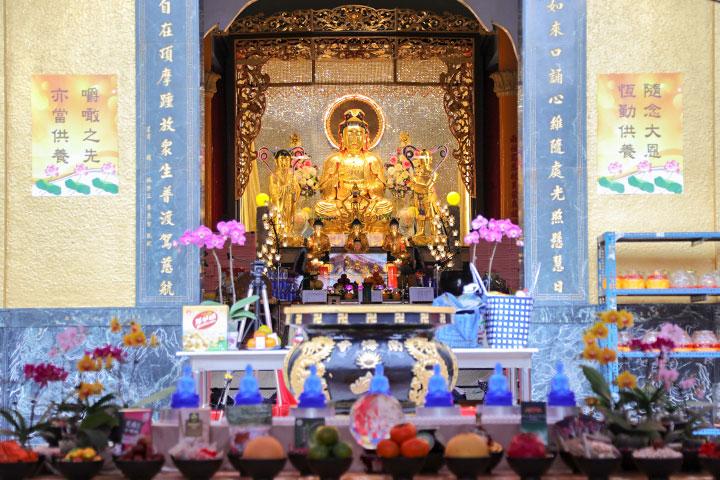 福智尼僧團於南海寺舉辦「藥師寶懺法會」