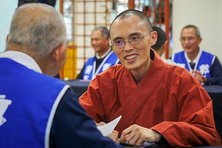 大愛無疆,福智僧團參與慈濟骨髓捐贈驗血建檔