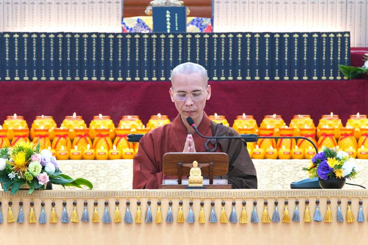 我們在一起,教燈永永不息 2020福智僧團湖山分院「春季誦經超薦法會」報導