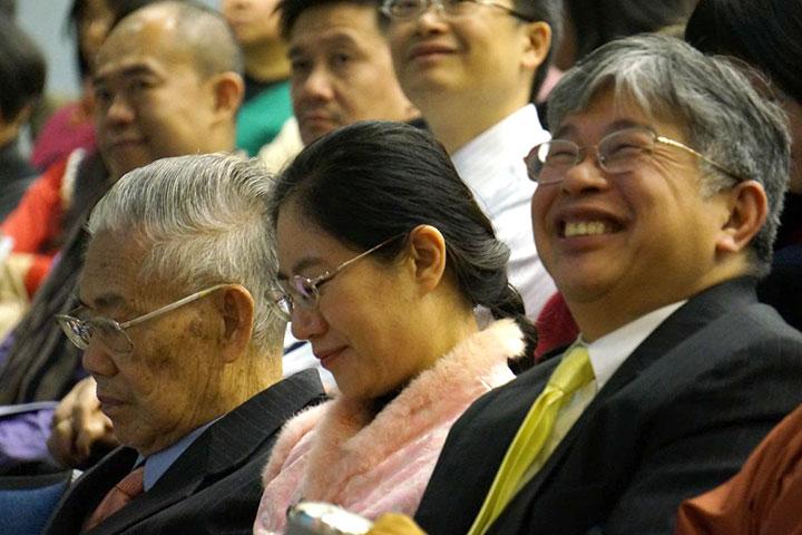 觀眾與講說者歡喜相應